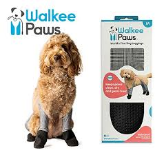 Qumy Dog Boots Size Chart Walkee Paws Waterproof Dog Leggings Keep Your Dogs Clean Dry Without The Hassle Of Boots Classic Checkered Color Medium