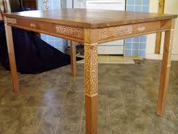 Carved Celtic Knot Ikea Kitchen Table 5 Steps With Pictures