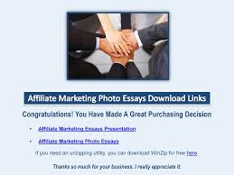 affiliate marketing photo essays wow profit packs 8 affiliate marketing photo essays