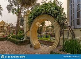 Garden Gate Landscape And Design Chinese Landscape Design Inspired Gate At The Garden Of