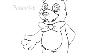 Fnaf Coloring Pages Bonnie Coloring Pages Download Coloring Pages