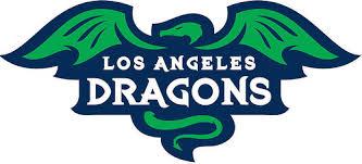 jbl logo. los angeles dragons jbl logo