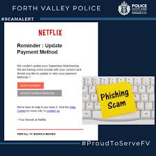Phishing Scam Scots Warned Over Netflix Phishing Scam As Police Show