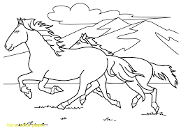 Printable Coloring Pages Of Horses With Printable Horse Coloring