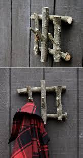 Easy DIY Branch Coat Racks