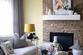 diy fireplace mantel placeofmytaste com 8