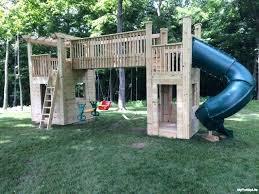 backyard playset plans design bckyrd plyset