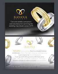 Jewelry Flyer Elegant Serious Jewelry Flyer Design For A Company By See