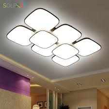 aliexpress com sol lamp ceiling lights fixture curved fixture modern led chip dimming led ceiling round bedroom ceiling lights cs89803 from