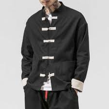 MRDONOO <b>Chinese</b> style men's retro crane <b>embroidered</b> jacket ...
