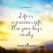Life Is Precious Quotes Enchanting Life Is A Precious Gift Life Quotes Quotes Quote Life Lessons