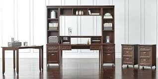 crate and barrel home office. Modular Office Furniture Crate And Barrel Regarding Home Plan Incredible Desk 7 M