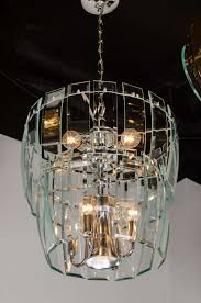 beveled glass chandelier panels designs