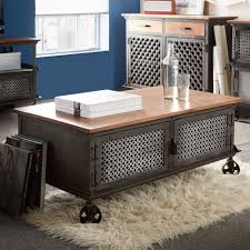 wrought iron and wood furniture. Appealing-iron-and-wood-coffee-table-coffee-table- Wrought Iron And Wood Furniture