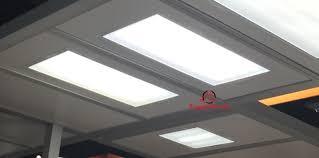 2x4 feet 65 watt panel light troffer light 5000k dimmable carton of 4