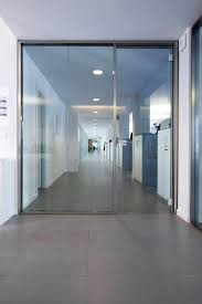 office glass door architectural simplicity glass partition walls