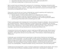 Profile Resume Examples In Example Of Resumes Sample Statement For