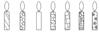 Small Picture Birthday Candle Coloring Pages NetArt