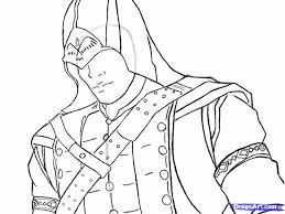 Assassins Creed Coloring Pages