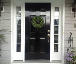 Diy Exterior Dutch Door Diy Lessons Learned Painting My Front Door Black Painted Front