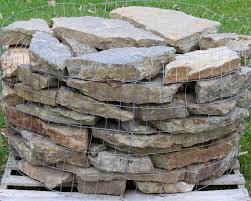 ozark weathered fieldstone retaining wall