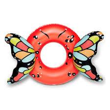 <b>Круг надувной BIGMOUTH</b> Butterfly Wings - Red 140х101х53 см ...