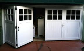 folding garage doors wood bi fold garage doors folding garage doors canada
