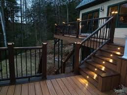 deck lighting. Low-voltage Deck Lighting Can Be An Easy Install For Homeowners - The  Washington Post G