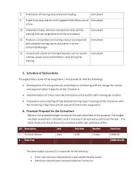 Technical Proposal Templates Financial Proposal Template Bgapps