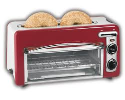 Small Red Kitchen Appliances Amazoncom Hamilton Beach 22703 Toastation Toaster And Oven Red