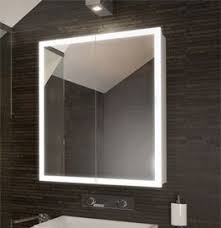 brilliant bathroom cabinets mirrored cabinet with lights on illuminated