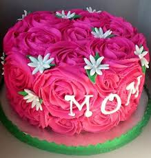 Easy Birthday Cakes For Mom Teamtessaorg