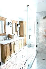 patterned bathroom rugs small bathroom rugs two gorgeous remodels you need to see large design patterned
