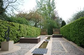 Small Picture Geometric garden design ideas landscape contemporary with rendered