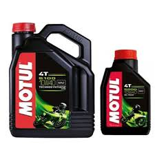 5000 4t 10w40 Semi Synthetic Motorcycle Engine Oil 1 Litre