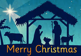 religious merry christmas clip art. Merry Christmas Nativity Clipart Throughout Religious Clip Art