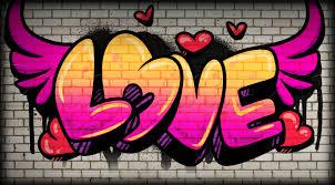 graffiti urban art love slideshow image