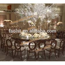 half moon dining table. half moon round shape dubai dining tables and chairs for banquet table