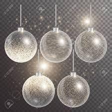 Hanging Ball Lights Christmas Balls Hanging New Year Celebration Glowing Lights