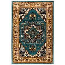 blue area rugs 8 10 awesome antep rugs oriental wave collection tabriz polypropylene of