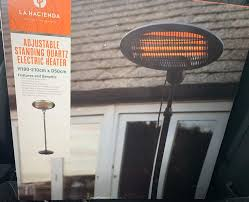 electric patio heater 35 in