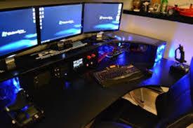 cool computer desks. Brilliant Cool Cool Computer Desks Black On P
