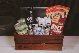 the health nut healthy gift basket
