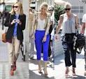 How to wear blue jean capris