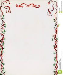 Christmas Letterhead Templates For Word Christmas