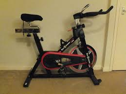 we r sports rev xtreme s1000 spin bike with manual etc gel seat cover