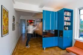small apartment furniture nyc. space saving furniture and rich blue room colors creative stylish ideas for decorating small apartments apartment nyc i