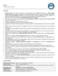 Pega Architect Sample Resume - Shalomhouse.us
