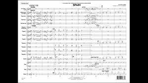 Spain By Chick Corea Arranged By John La Barbera