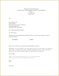 Application Transmittal Letter Sample Note Template Document